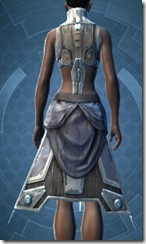 Banded Cuirass Imp Force - Female Back