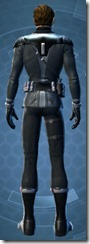 Clandestine Officer - Male Back