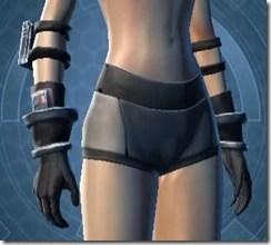 Covert Pilot Female Gloves