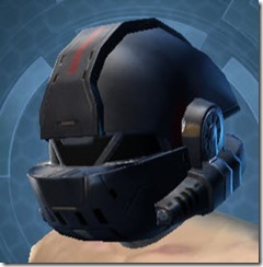 Covert Pilot Male Helmet