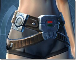 Interstellar Privateer Female Belt