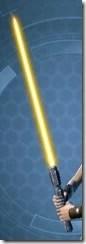 Satele Shan's Sparring Lightsaber Full