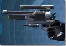 Defiant MK-1 Blaster Pistol Left