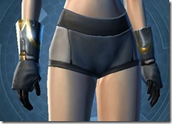 Defiant MK-1 Smuggler Female Gloves