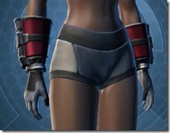 Defiant MK-1 Warrior Female Gauntlets