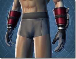 Defiant MK-1 Warrior Male Gauntlets