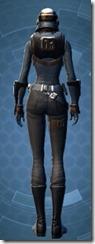 Defiant MK-4 Agent - Female Back