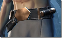 Defiant MK-4 Agent Male Belt