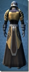 Defiant MK-4 Warrior - Male Back
