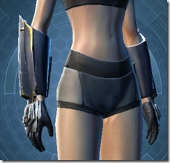 Exemplar Knight Female Handgear