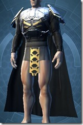 Exemplar Knight Male Chestguard