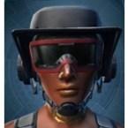Lacquer Mesh Headpiece [Tech] (Imp)