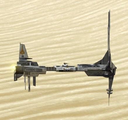 Model Zakuul Battlecruiser Side