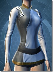 Overwatch Security Female Breastplate