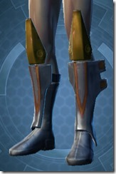 Overwatch Security Male Boots