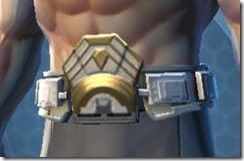 Ultimate Exarch Knight Male Belt