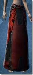 Veteran Inquisitor Female Lower Robe