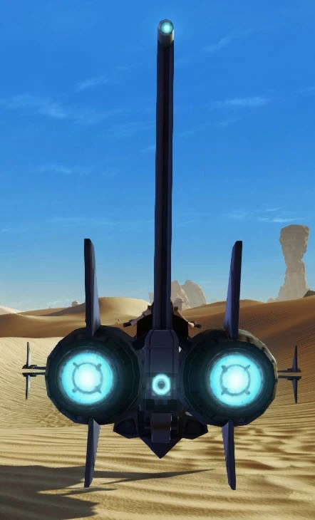 Zakuulan Interceptor Back