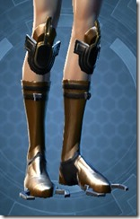 Conquered Exarch's Meditation Female Boots