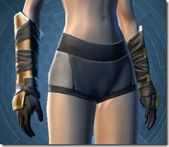 Conquered Exarch's Meditation Female Gloves