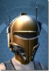 Conquered Exarch's Subterfuge Fermale Helmet