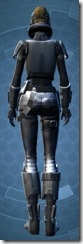 Defiant Asylum MK-26 - Female Back
