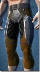Frasium Asylum Male Legplates