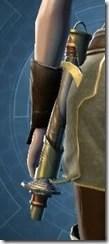 Hiridiu Midlithe Lightsaber Stowed