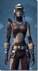 Outlander Patroller - Female Close