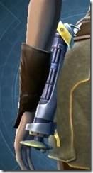 Yavin Bulwark's Lightsaber MK-3 Stowed