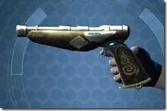 Crystalline Boltblaster's Blaster Pistol MK-3 Left