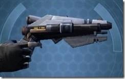 Crystalline Demolisher's Blaster Pistol MK-3 Right