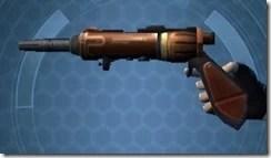 Decorated Boltblaster's Blaster Pistol MK-3 Left