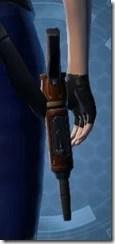 Decorated Boltblaster's Blaster Pistol MK-3 Stowed