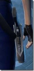 Flexiglass Ceraglass Blaster Pistol Stowed