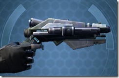 Fractured Targeter's Blaster Pistol MK-3 Right