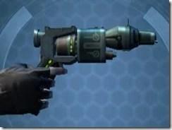 Fractured Targeter's Offhand Blaster MK-3 Right