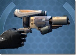 Phrik Laminasteel Blaster Pistol Right