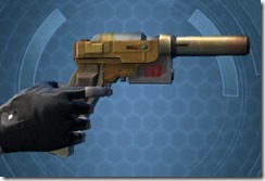 Requisitioned Targeter's Blaster Pistol MK-3 Right