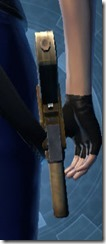Requisitioned Targeter's Blaster Pistol MK-3 Stowed