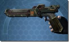 Thermal Demolisher's Blaster Pistol MK-3 Left