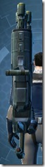 Transparisteel Asylum Onslaught Assault Cannon Stowed