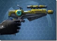 Yavin Targeter's Offhand Blaster MK-3 Right