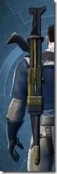 Crystalline Boltblaster's Blaster Rifle MK-3 Stowed