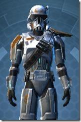 Crystalline Boltblaster's MK-3 - Male Close