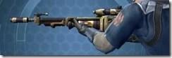 Crystalline Demolisher's Blaster Rifle MK-3 Left
