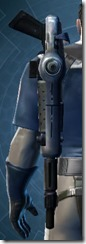 Decorated Boltblaster's Blaster Rifle MK-3 Stowed