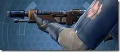 Decorated Targeter's Blaster Rifle MK-3 Left