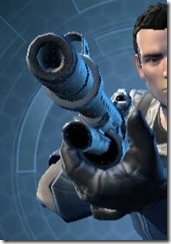 Havod Asylum Onslaught Blaster Rifle Front