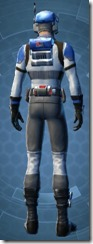 Requisitioned Boltblaster's MK-3 - Male Back